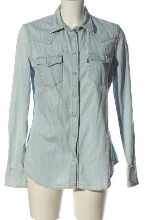 Levi's Jeansowa koszula niebieski W stylu casual