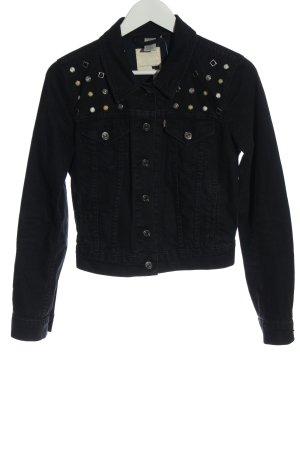 Levi's Denim Jacket black casual look