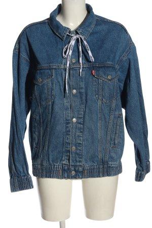 Levi's Jeansowa kurtka niebieski W stylu casual