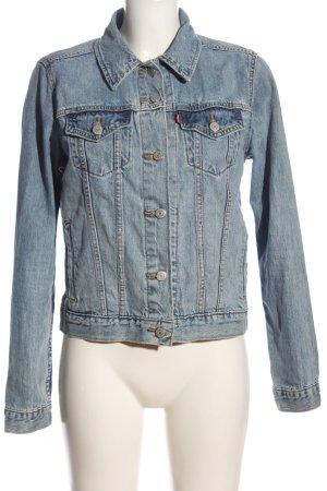 Levi's Veste en jean bleu style décontracté