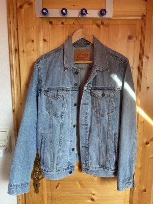 Levi's Jeansowa kurtka błękitny-chabrowy