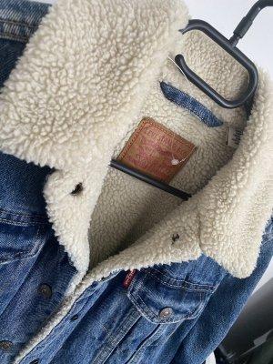 Levi's jeansjacke lammfellfutter