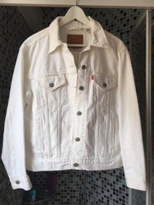 Levi's Denim Jacket white cotton