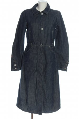 Levi's Jeanskleid blau Streifenmuster Casual-Look