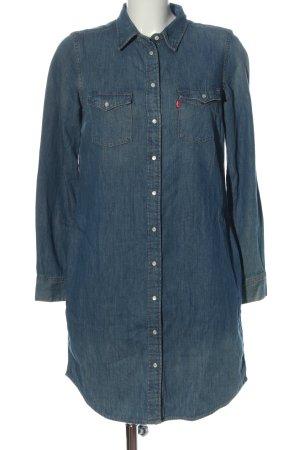 Levi's Jeansjurk blauw casual uitstraling