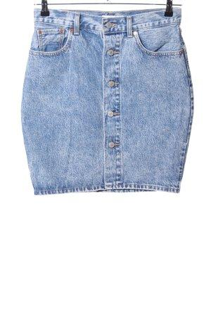 Levi's Gonna di jeans blu stile casual