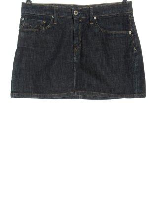 Levi's Denim Skirt blue flecked casual look