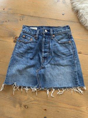 Levi's Jeansowa spódnica niebieski