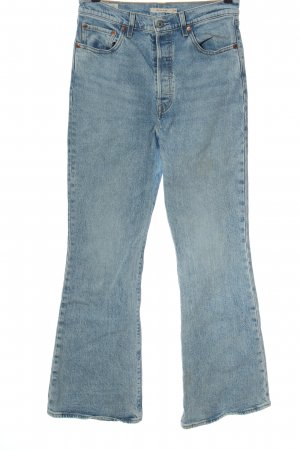 Levi's Jeans a zampa d'elefante blu stile casual
