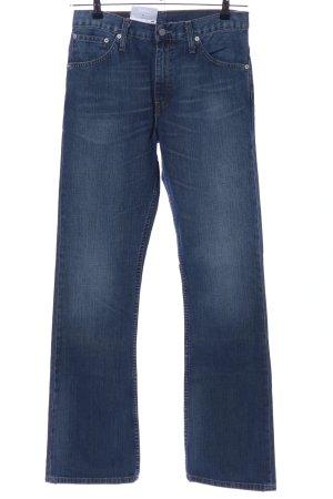 Levi's Jeans flare bleu style décontracté