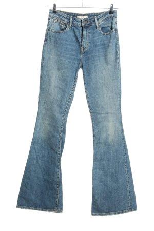 "Levi's Jeansschlaghose ""high rise flare"" blau"