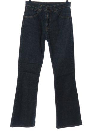 Levi's Jeansowe spodnie dzwony niebieski Melanżowy W stylu casual
