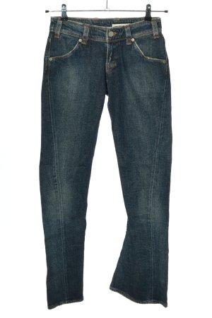 Levi's Jeansowe spodnie dzwony niebieski W stylu casual