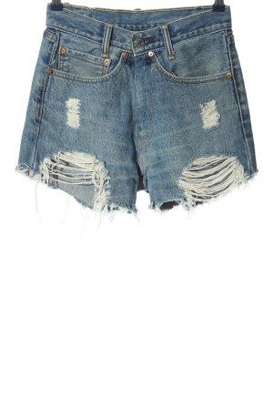 """Levi's Pantaloncino di jeans """"505"""" blu"""