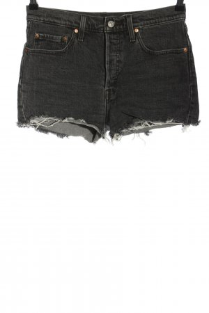 Levi's Jeansshorts schwarz Casual-Look