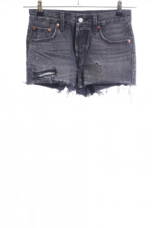 Levi's Jeansshorts hellgrau Casual-Look