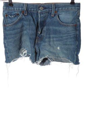 Levi's Jeansshorts blau Casual-Look