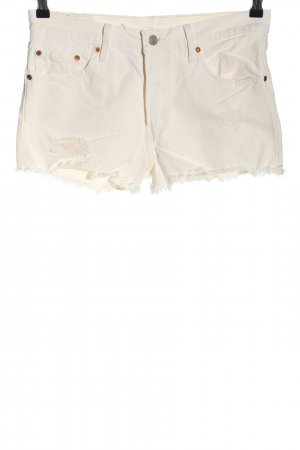 Levi's Jeansshorts wollweiß Casual-Look