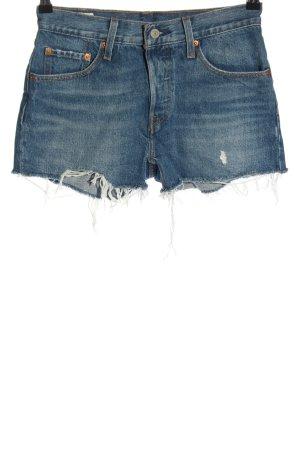 Levi's Jeansowe szorty niebieski W stylu casual