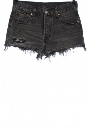 Levi's Short en jean gris clair style décontracté
