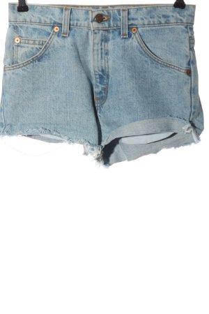 Levi's Pantaloncino di jeans blu stile casual