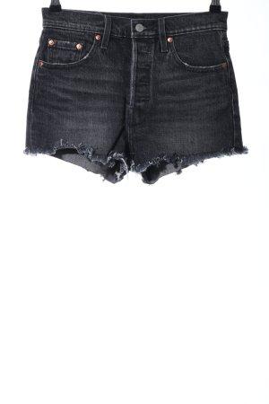 Levi's Jeansshorts dunkelgrau Casual-Look