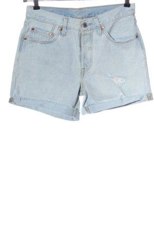 Levi's Short en jean bleu style décontracté