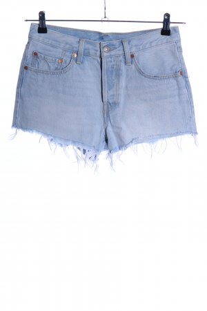 Levi's Jeansshorts blau Used-Optik