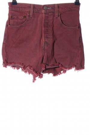 Levi's Jeansshorts pink Casual-Look