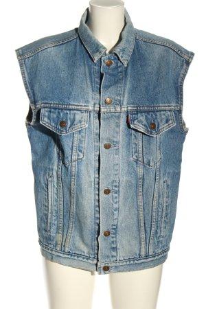 Levi's Jeansweste blau Casual-Look