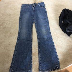 Levis Jeansy o kroju boot cut błękitny-chabrowy
