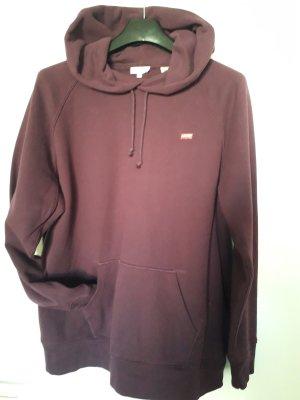 Levi's Jersey con capucha violeta amarronado Algodón