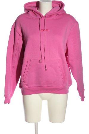 Levi's Felpa con cappuccio rosa Stampa a tema stile casual
