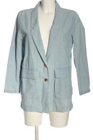 Levi's Blazer largo azul look casual