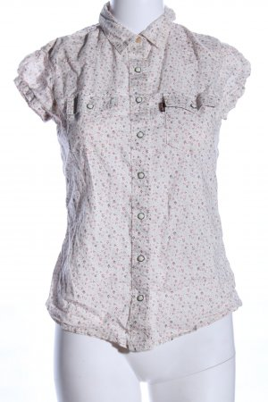 Levi's Kurzarm-Bluse Blumenmuster Casual-Look