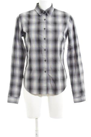 Levi's Langarmhemd schwarz-weiß Business-Look