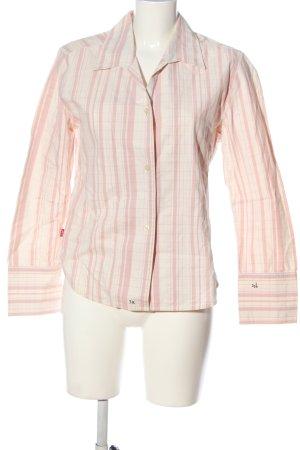 Levi's Langarmhemd pink-weiß Karomuster Casual-Look