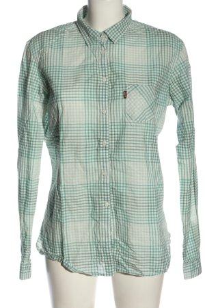 Levi's Koszula z długim rękawem biały-zielony Na całej powierzchni