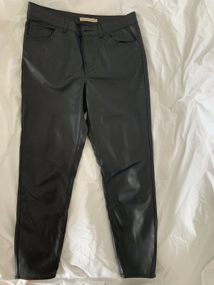 Levi's Spodnie z imitacji skóry czarny