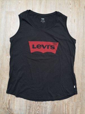 Levi's levis T-Shirt Shirt S Top anthrazit grau rot Neu