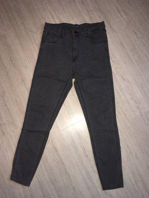Levi's Hoge taille jeans grijs