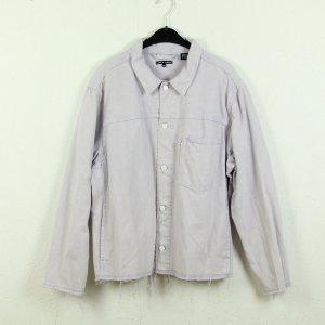 Levi's Jeansowa kurtka bladofiołkowy Bawełna