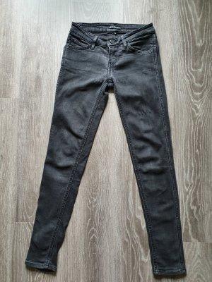 Levi's line 8 Skinny Jeans, grau