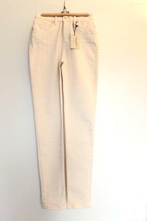 Levi's Jeans taille haute crème coton