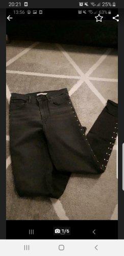 LEVI STRAUSS & CO Biker Jeans dark grey