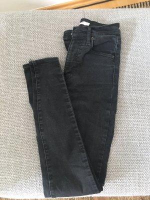 Levi's High Waist Jeans black