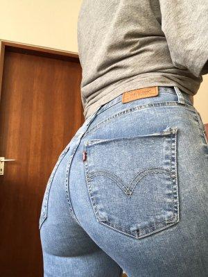 Levi's High Waist Jeans multicolored