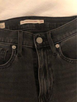 Levi's Jeansy o obcisłym kroju szary-antracyt