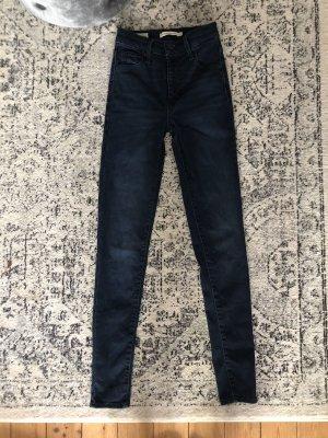 Levi's Mile High Waist Skinny Jeans Revolve Denim Jades Zara Top