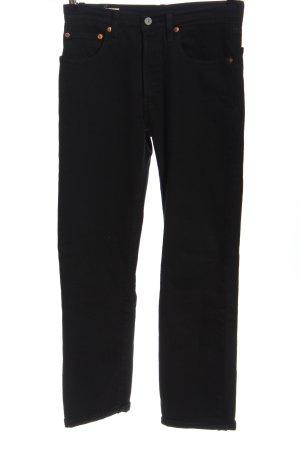 Levi's Mom-Jeans schwarz Casual-Look